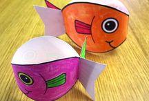papírové rybky