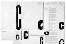 letterpress ontwerpen / mooie ontwerpen die met lode letters of houten letters gemaakt zijn