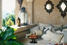 Moroccan style / Moroccan home decor and room styles