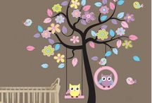 Wall decorations for baby room