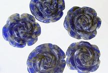 Stone Beads > Sodalite Beads / Natural Sodalite Beads in a variety of shapes, sizes and colors.