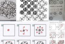 Zentangle tutorial