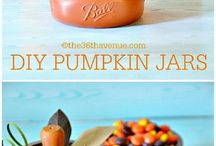 Fall Crafts and Recipes