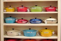 Le creuset. Many colours or monotone collection?? / by Afizah Aziz