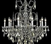 Elegant Lighting Athena Collection / Elegant Lighting is a prominent designer, manufacturer and distributor of stylish crystal chandeliers and other lighting items. For more than a decade, the company focuses on providing lighting creations that go well with the interior designs of the house. With its headquarters in Philadelphia, they have been producing innovative designs for crystal chandeliers and other lighting products.