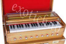Harmonium, Tabla, Sitar, Portable Harmonium