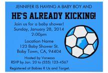 it's a boy! baby Jeffrey Jr.