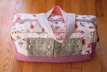 Cargo Duffle sew along / Making Cargo Duffle bag, using Noodlehead pattern