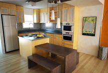 Kitchen Remodel / Bye-bye kitchen from '79 and Hello! modern makeover. / by Stephanie Bramasco