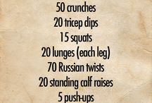Weekly work out