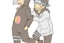 Kankuro and Kiba