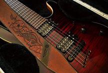 instruments et cuir
