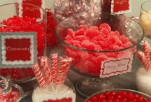 Red Candy Inspiration / by Candy Galaxy