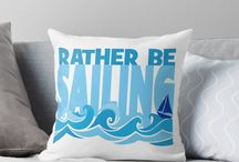Cool Boating Pillows