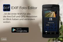 Exif Editor / Exif Editor is a Android App which allows you to change all metadata in your Photos