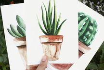 & succulent