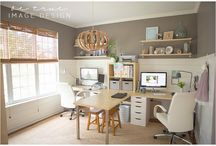 Our office space / Ideas for decor, DIY, and organization / by Andrea Rose