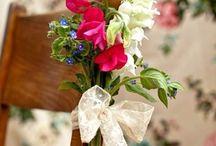 Emma Norton chair flowers