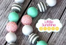 Bubblegum Necklaces / by Sarah Williams