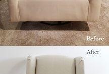 Oatmeal Cotton Linen Slipcovers