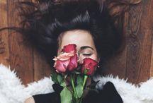 Rose & portre