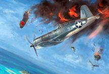 aviacion  2: guerra mundial /   aviones de guerra 2 guerra mundial