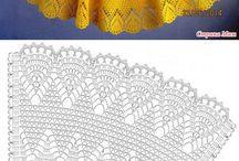 sukieneczka na szydełku