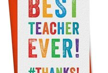 Teacher Gifts / Teachers are unsung heroes and deserve recognition for all their hard work shaping the young minds of the world!