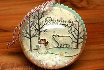 kerstbal maken creatief
