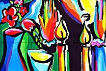 Arte en lienzo