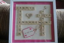 Wedding Scrabble picture