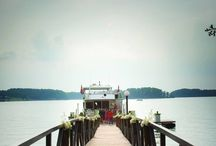 Lanier Islands' Yacht Weddings / Our Island Queen and Princess provides a wonderful space for a more intimate gathering. Also featuring a luxury enclosed cabin with full-service catering and bar capabilities, two restrooms, a formal seating area, and a partially-covered upper party deck - weddings or rehearsal dinners aboard our Yachts are sure to please the entire wedding party! / by Lanier Islands Weddings