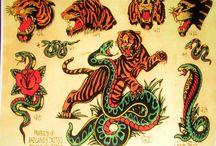 Τατουάζ vintage