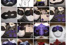 Торт маски