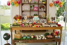 Birthday Parties / Plan a one-of-a-kind Birthday Party with these DIY designs and ideas.  Incorporate silk flowers and whimsical decorations from Afloral.com into your birthday party.