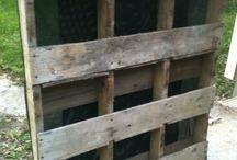 pallets garden building