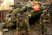 diorama WW2