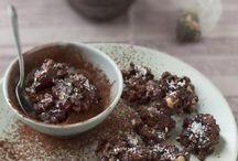 petits croquants au chocolats et fruits secs