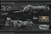 Spaceship Designs I Like