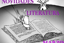 Literatura MARZO 2017 / Novidades de Libros LITERATURA da Biblioteca Ánxel Casal MARZO 2017