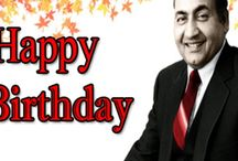 Happy Birthday Mohd Rafi