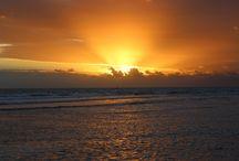 Belize Sunrise & Sunset Views - Blue Marlin Beach Resort / Wake up to breath-taking sunrise views and unwind to stunning sunsets.