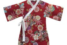 Japanese Kimonos for Girls / Pretty Japanese kimonos for girls