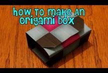 Origami Boxes & Containers / Vouwen van doosjes en schaaltjes / by Irene Planting