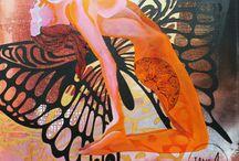 "JaneA ArtWork  ""Kvinde din"" serien"