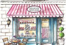 ilustracion shopping