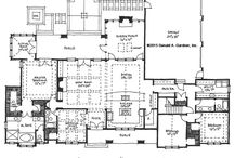 Addicted to House Plans / I spend hours looking at house plans. HOURS. I dream of a three car garage, a bonus room, a jack and jill bath, lots of pocket doors and a dining room. <3