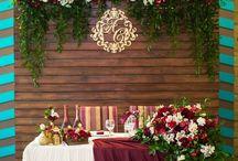 Свадьба красный