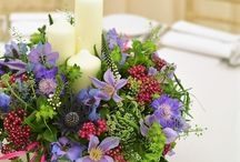 Mad Lilies Table Centres