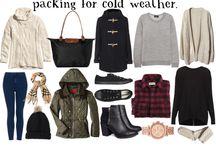 Packing Ideas Winter Getaway